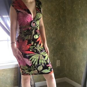 Cache Dresses - Cache floral midi dress! Size 4